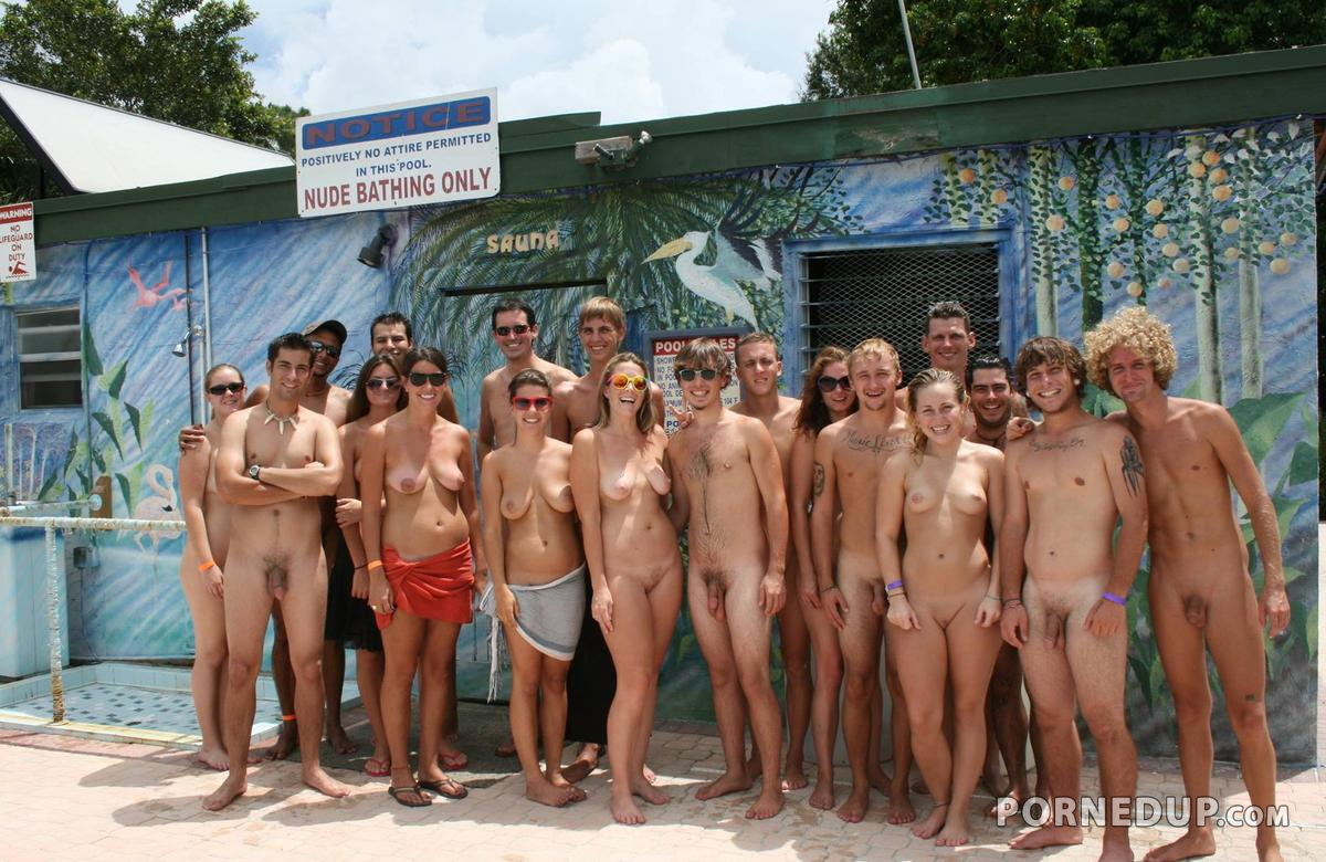 First Nude Beach Experience -