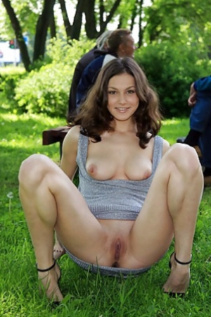 hot milf at garden party