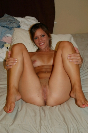Nude Milf on Bed