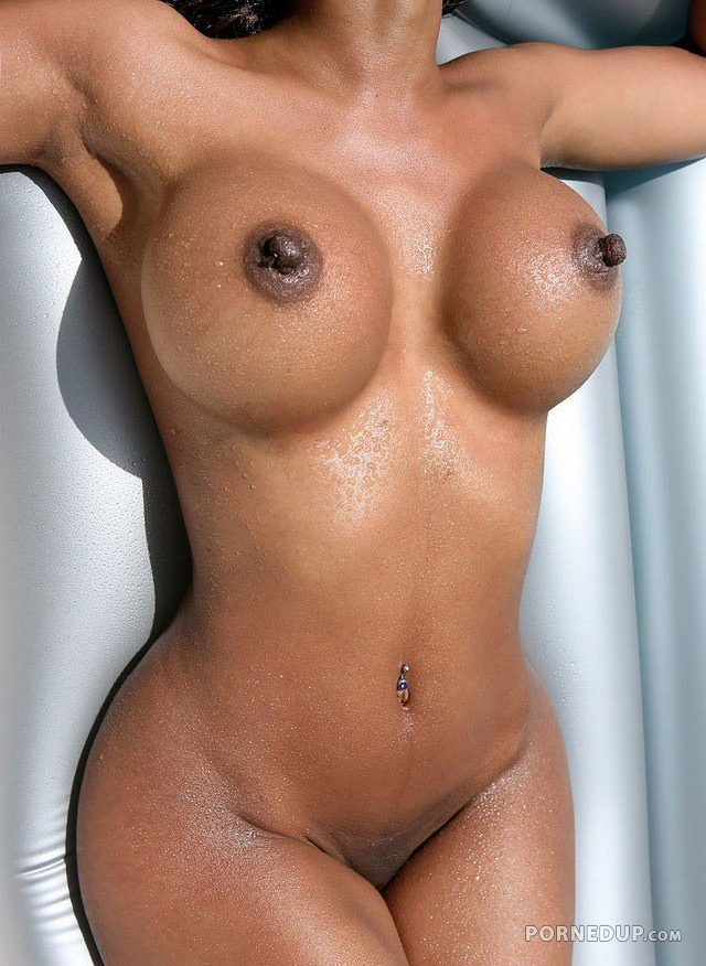 Big Perky Nips On Fake Tits - Porned Up-7525