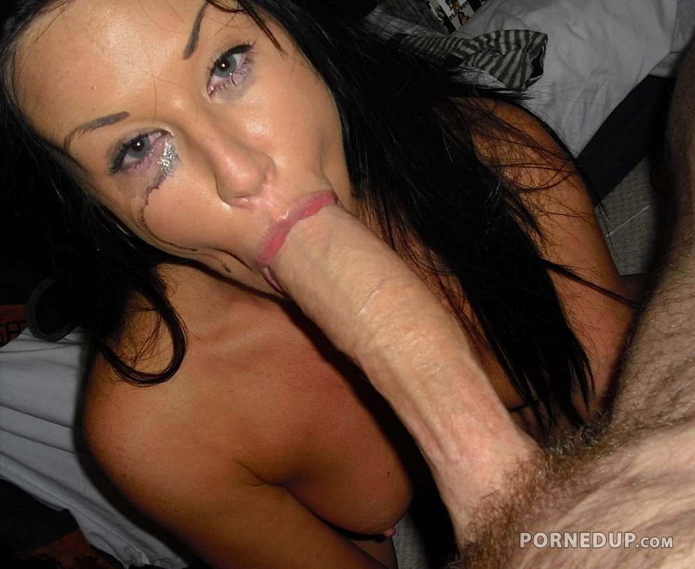 Brunette Milf Blowjob - Porned Up-8177
