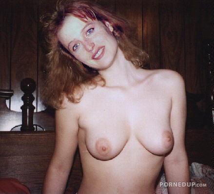 Gillian anderson blowjob