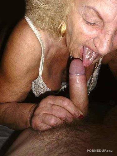 Grandma cock