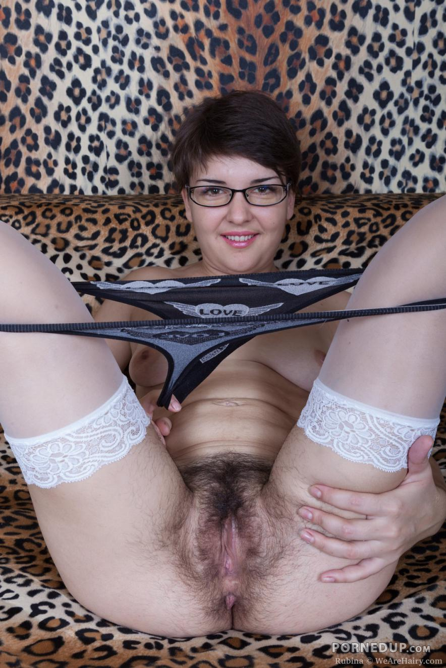 Hairy Milf With Glasses