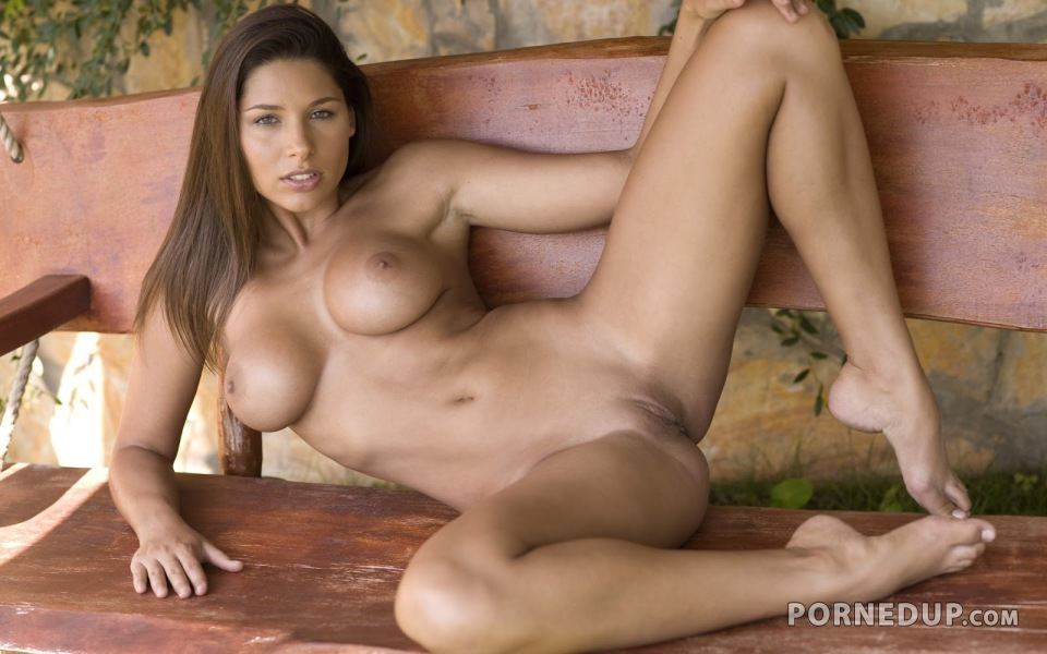 brunette naked Hot