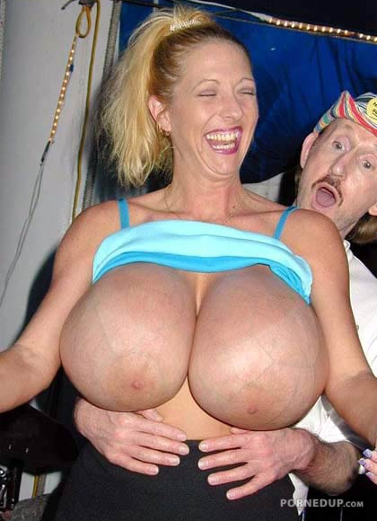 Huge Fake Tits Surprise - Porned Up-4003