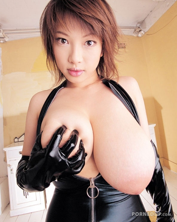 Big Tit Japanese Enjoys Cock