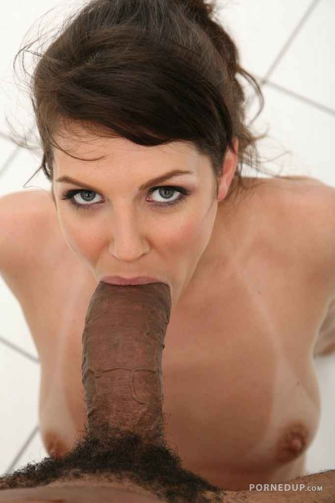 Massive Cock In Her Mouth