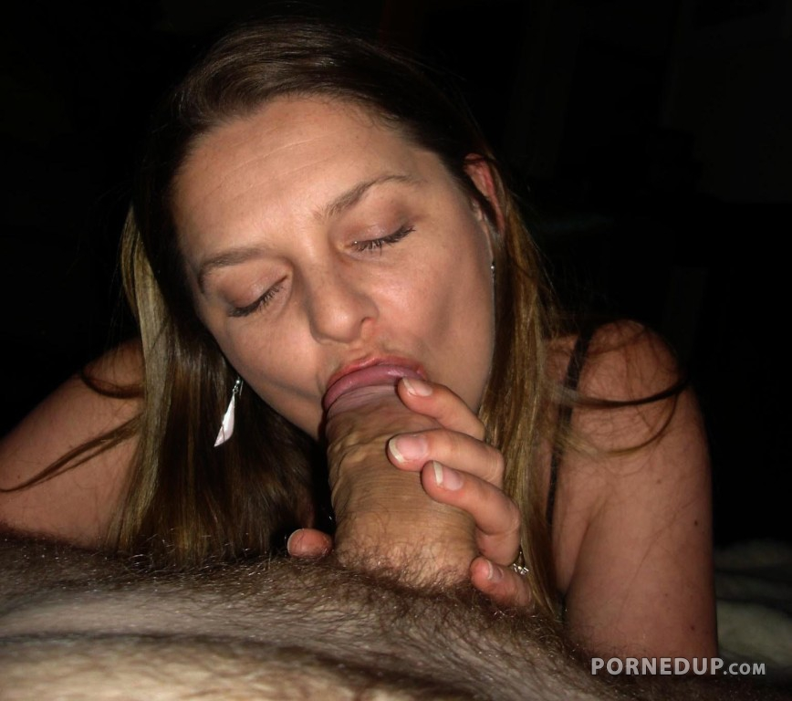 Milf latina sucking fat cock