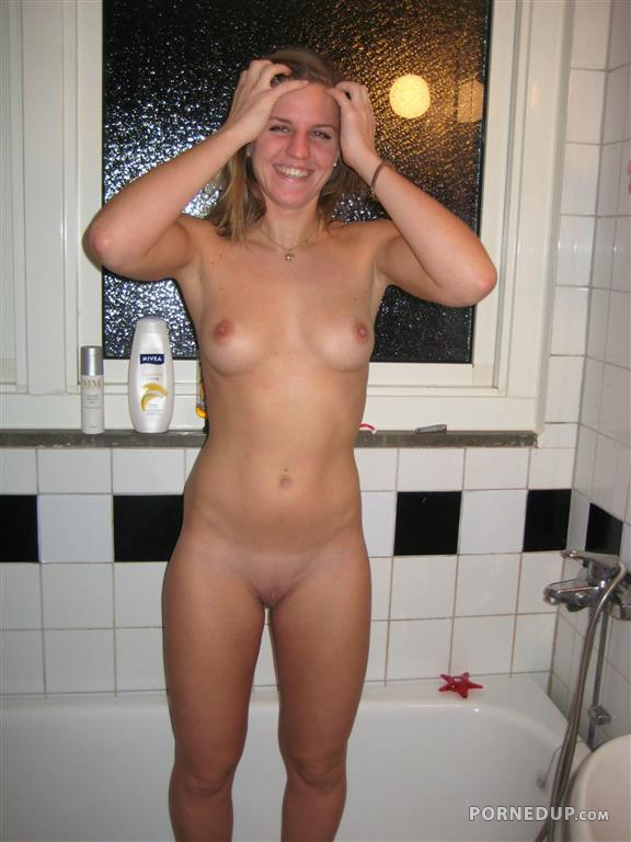 Girl being naked in public