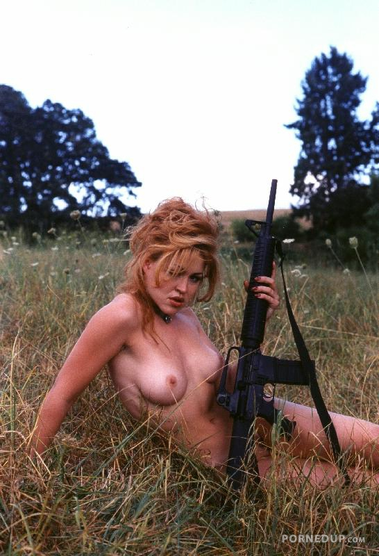 Naked with gun scene — 12
