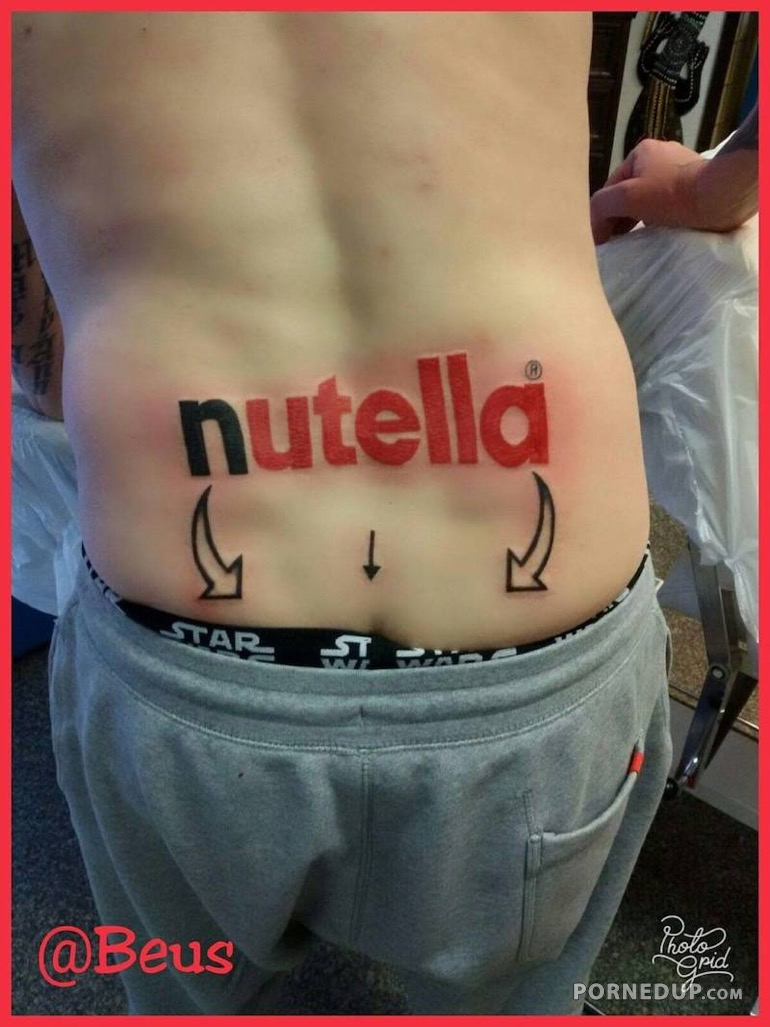Nutella Tattoo