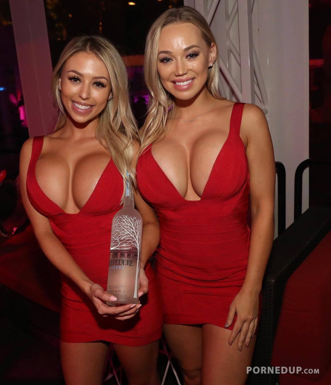 busty hostesses
