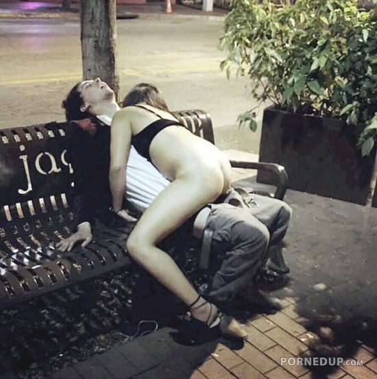 Couple Passed Out During Public Sex