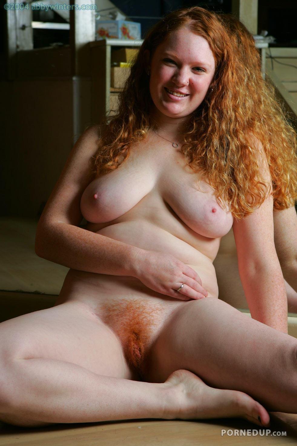 Chubby Redhead Teen Pussy