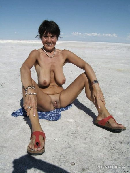 Opinion you mature saggy tits at beach can