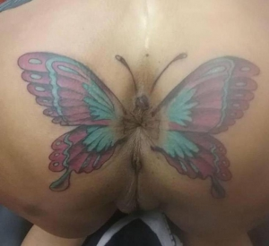 Anal tattoo photos