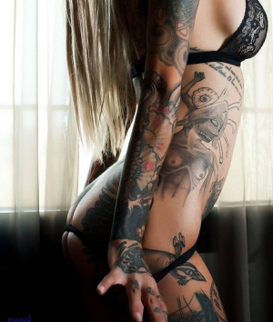 Babe With Tattoos
