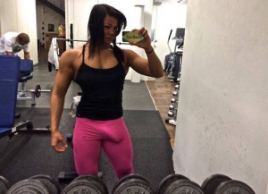 Big Cock Muscle Babe