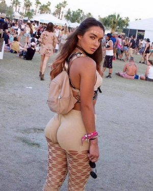 Incredible Ass On Hot Festival Girl