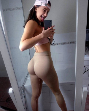 Perfect Ass In Yoga Pants