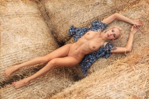 Rolling in hay