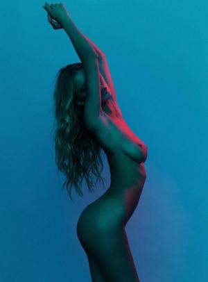 Skinny Nude Model