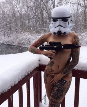 Storm Trooper With Amazing Body