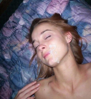 Cum On Teen Face