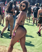 Festival Chicks With Big Asses