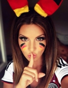 German worldcup fan