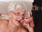 Granny Loses False Teeth During Blowjob