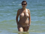 Hot Nude Milf in Sea