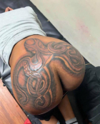 Octopus Ass Tattoo