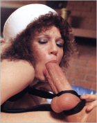 Retro Sucking the big cock