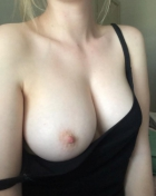 Teen boob out