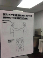 Why Wash Your Hands After Using The Restroom
